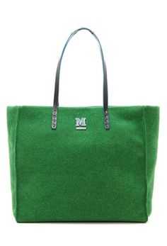 Missoni felt and leather tote http://rstyle.me/n/u9pzvr9te