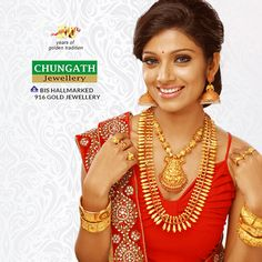 Traditional design collections with affordable making charges and quality from Chungath Jewellery. www.chungathjewellery.com