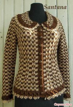 Irish crochet &: Жакет в стиле Шанель от Santana