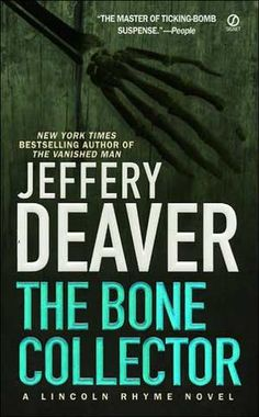 Like Mystery Novels?  See Which Series Are Most Popular: Lincoln Rhyme Mysteries by Jeffrey Deaver