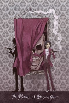 The Picture of Dorian Gray mini poster Oscar Wilde, Dorian Gray Book, Inktober, Grey Art, Classic Literature, Grey Tattoo, Poster On, Dark Art, Textured Background