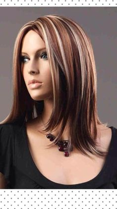 Red, brown, blonde hair I like this color but idk if I can pull it of
