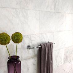 Calacatta Honed Marble Subway tile from Mandarin Stone - looks good
