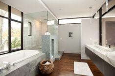vanity cabinetry - LaFrance Residence Bathroom - modern - bathroom - atlanta - Cablik Enterprises