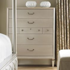 Pearly White Chest - Caracole Furniture