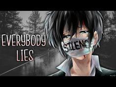 ◤Nightcore◢ ↬ everybody lies [lyrics] Music Lyrics, Music Songs, Falling Apart Quotes, Fnaf Song, Everybody Lies, Love Rap, Rap Beats, Sad Girl, Love You All