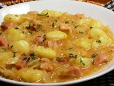 Gnocchi, cabbage and smoked - Gnocchi, cabbage and smoked - No Salt Recipes, Cooking Recipes, Healthy Recipes, Gnocchi, Bon Appetit, Cheeseburger Chowder, Family Meals, Macaroni And Cheese, Cabbage