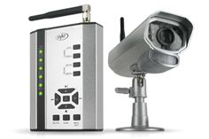 Wireless DVR Camera System with SD Card Recording and Camera