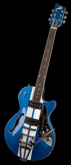 La guitare signature de Mike Campbell, Duesenberg !