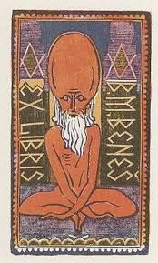 ∴ Ðrÿad ∴ - venusmilk: Ex Libris by Josef Váchal (source) Ex Libris, Weird And Wonderful, Macabre, Printmaking, Museum, Kids Rugs, Artist, Books, Google