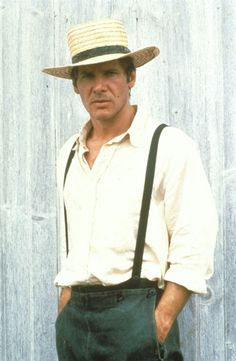 Harrison Ford as John Book in Witness, 1985 Witness Harrison Ford, Harrison Ford Young, Harrison Ford Indiana Jones, Indiana Jones Films, Star Wars, Harison Ford, Ford Mustang, Peter Weir, Han And Leia