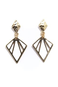 Enamel Kite Drop Earrings in #White / #Gold  - 3144058 - from Equip (AUD $3.00 were AUD $9.99).