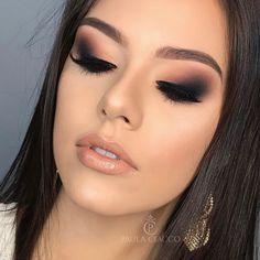 Best Makeup Ideas For Laying Mascara And Eyeliner Gorgeous Makeup, Pretty Makeup, Love Makeup, Makeup Inspo, Makeup Inspiration, Prom Makeup, Bridal Makeup, Wedding Makeup, Makeup Goals