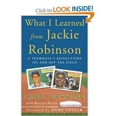 Nice personal reflections on baseball's first black player.