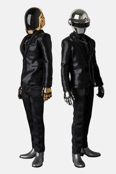 "Daft Punk x MEDICOM TOY ""Random Access Memories"" Real Action Heroes Figures"