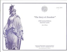 SO 149-151 ABNC Limited Edition Souvenir Card Set The Story Of Freedom 142/300