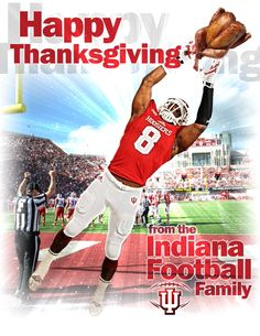 """""""Happy Thanksgiving from 🍗🍗🍗 Thanksgiving Graphics, Happy Thanksgiving, Indiana Football, Baseball Cards, Twitter, Sports, Movie Posters, Design, Happy Thanksgiving Day"""