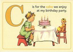 Jenny Matlock: Alphabet-Thursday C is for cake