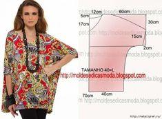Самые простые выкройки летних блузок