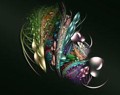 fractal ruby | Via Ginger Boerkircher