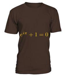 Eulers Identity 1 T Shirts  #gift #idea #shirt #image #funny #job #new #best #top #hot #high-school