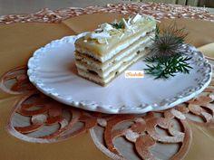 Medové tvarohové rezy s kivi džemom (fotorecept)