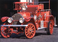1924 American LaFrance - solid tires