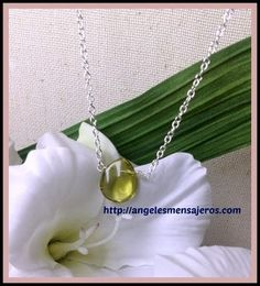 green pendant  -  jewerly - green style