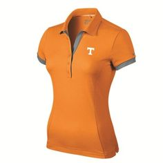 Tennessee Volunteers Nike Women's Victory Block Polo - Tennessee Orange
