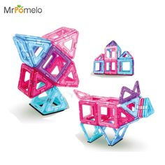 19.99$  Watch more here - MrPomelo Better Builders 30 Pieces First Magnetic Construction Toy Set Magnet Clear Magnetic 3D Building Blocks Toys for Girls   #shopstyle