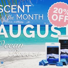 #august scent of the month #oceanbreeze #shopwithme #shop www.JicbyGia.com
