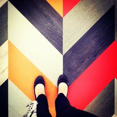 @patcraftfloors Mixed Materials collection gives you a good reason to look down at your feet. #Neoconography #NeoCon14 #Facet