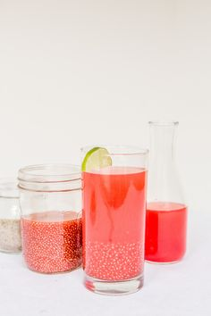 Watermelon Chia Fresca It's not nearly summer (hell, it's less... - Dinner was Delicious