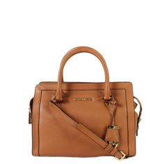 Michael Kors Collins Medium Walnut Tassen schoudertassen online kopen