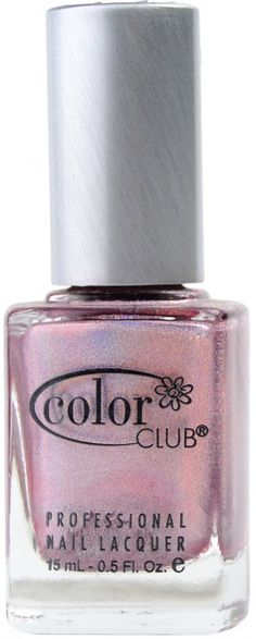 Cloud Nine (Holographic) by Color Club Black Nail Polish, Holographic Nail Polish, Nail Polish Colors, Black Nails, Spa Branding, Polish Names, Color Club, Nails Magazine, Rainbow Colors