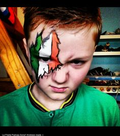 #ireland #face #paint #kids