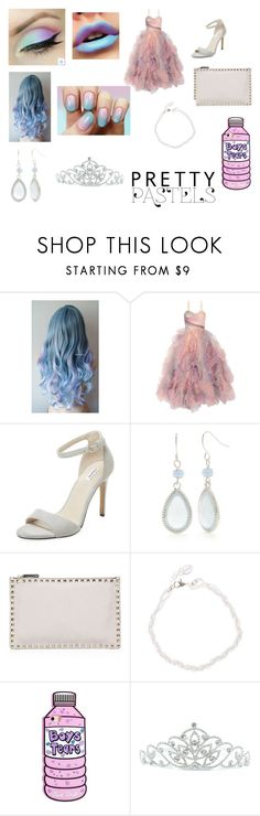 """""""Pastel Prom Queen"""" by theawsomeprussian on Polyvore featuring beauty, Sephora Collection, Marchesa, Elorie, Kim Rogers, Valentino and Kate Marie"""