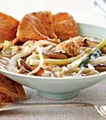 Moo Shu soup from rachel Ray....looks easy and tasty!