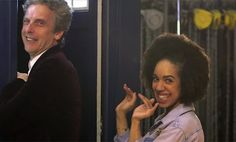 Pearl Mackie's first day as the new companion on the set of Doctor Who
