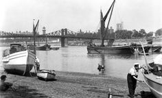 River Thames at Horseferry Stairs: 20th century, George Davison Reid