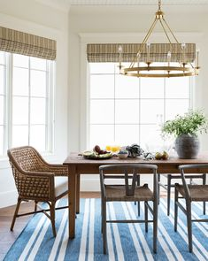 Home decor, and furnishings, curated by the designers at Studio McGee. Mixed Dining Chairs, Dining Nook, Round Dining Table, Beach Dining Room, Ikea Dining Table, Small Dining, Reclaimed Wood Frames, Reclaimed Wood Dining Table, Studio Mcgee