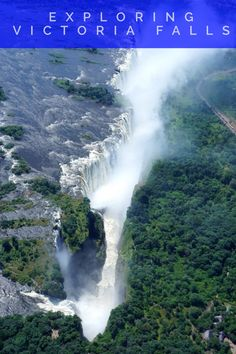 Explore one of the seven natural wonders of the world Victoria Falls. Dividing Zimbabwe and Zambia, Victoria Falls is one of Africa's beautiful destinations.