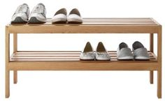 Buy Heart of House Elmley Shoe Rack - Solid Oak at Argos.co.uk, visit Argos.co.uk to shop online for Shoe storage