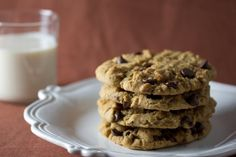 Sooooo good! Makes a HUGE batch of cookies so I cut the recipe in half