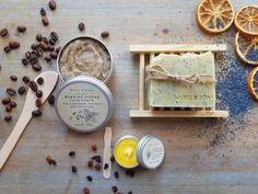 Coffee Face Scrub, Natural Face Cream, Organic Coconut Milk, Infused Oils, Vegan Soap, Rosehip Oil, Lotion Bars, Sweet Almond Oil, Soaps