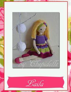 Dollcrochet dollAmigurumi doll ♥ by chepidolls on Etsy