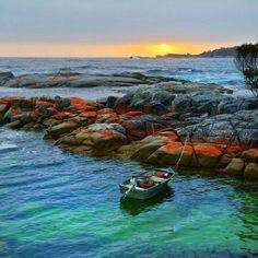 Bay of Fires - Binalong Bay Tasmania