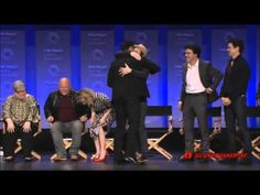 Matt Bomer is announced as one of the lead roles for AHS Hotel at PaleyFest 2015 - YouTube
