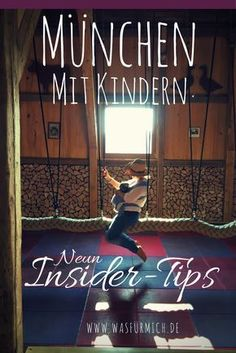 Munich with children (nine new tips for all who have been there before - München - Travel & Restaurants Travel With Kids, Family Travel, Kids And Parenting, Parenting Hacks, Indoor Playground, Children Playground, Train Travel, Toddler Preschool, New Tricks