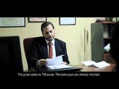 ▶ La entrevista. Cortometraje. - YouTube  Nivel B1-B2.  Entrevista de trabajo.